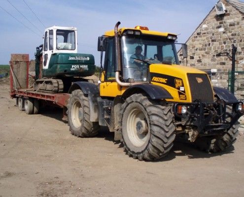 Setting Off With Machinery